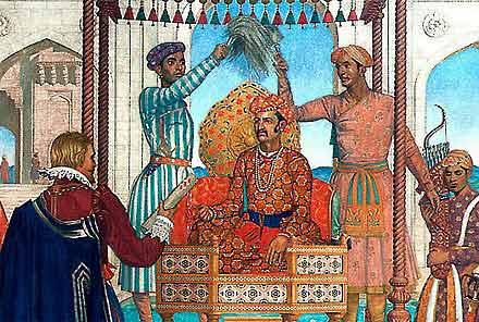 Image result for थॉमस रो मुगल शासक जहांगीर के दरबार अजमेर में
